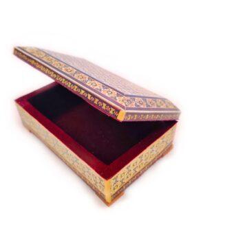 MQ-K7_ Marquetry wooden box_ 1 kom (3)