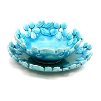 CM-D19_Ceramic decorative Parisa bowl in Turquoise color_1 kom (1)