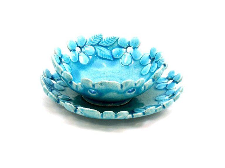 CM-D19_Ceramic decorative Parisa bowl in Turquoise color_1 kom (1)
