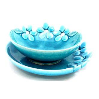 CM-D20_Ceramic decorative Parisa bowl in Turquoise color_1 kom (1)