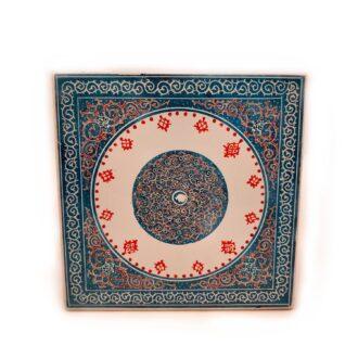 CT-27 _ Ceramic tile - Clock 1 kom (2)