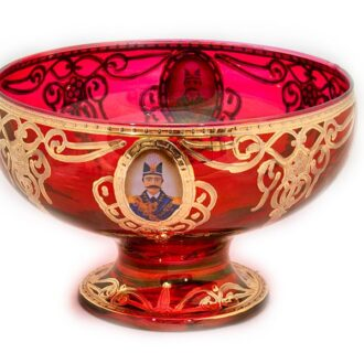 GD-1_Crystal Sugar Bowl - Qajar_ 1 kom
