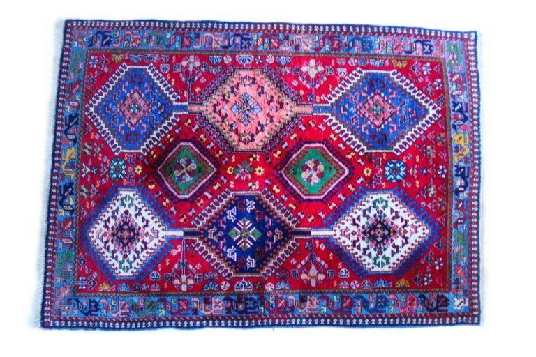 CP-1_Qashqai rug, Nomadic Persian Carpet_1 kom (1)