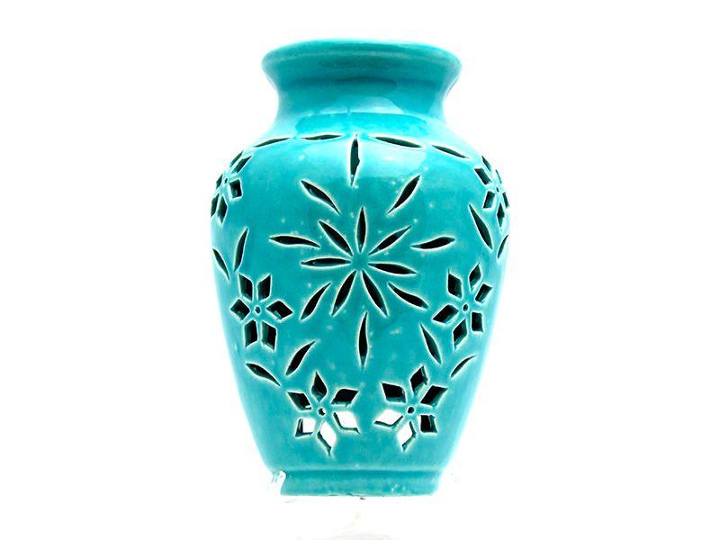 CM-D13_Wall vase jar Turquoise_1 kom