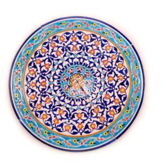 CT-26 _ Round ceramic tiles - Puzzle 1 set (4 pieces) (3)