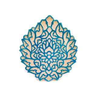 CT-37-1 Ceramic tile - Abbasi flower 1 kom