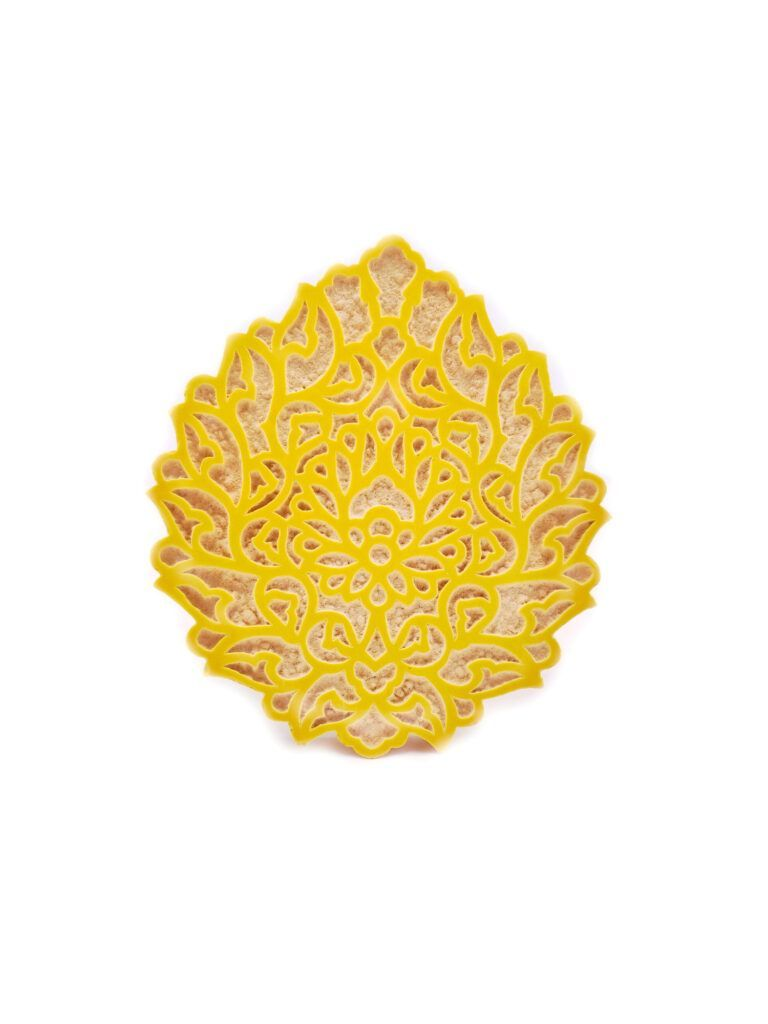 CT-37-2 Ceramic tile - Abbasi flower 1 kom-01