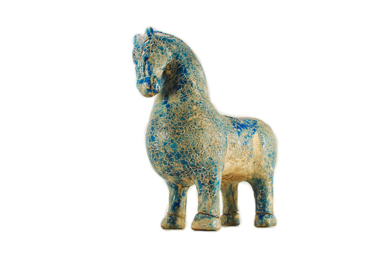 Pottery Sculpture of Median Horse